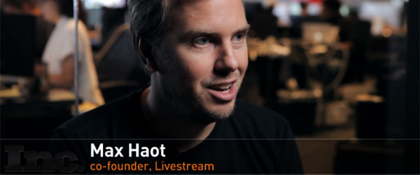 Max Haot LiveStream CEO