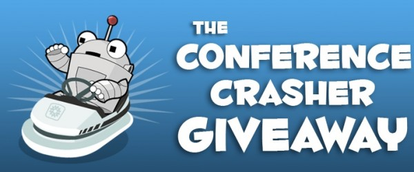 conference crasher giveaway
