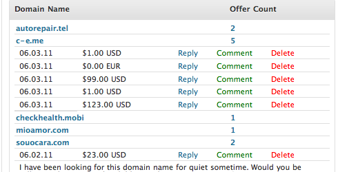 My Domain List Offers